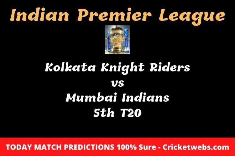 kkr vs mi match prediction