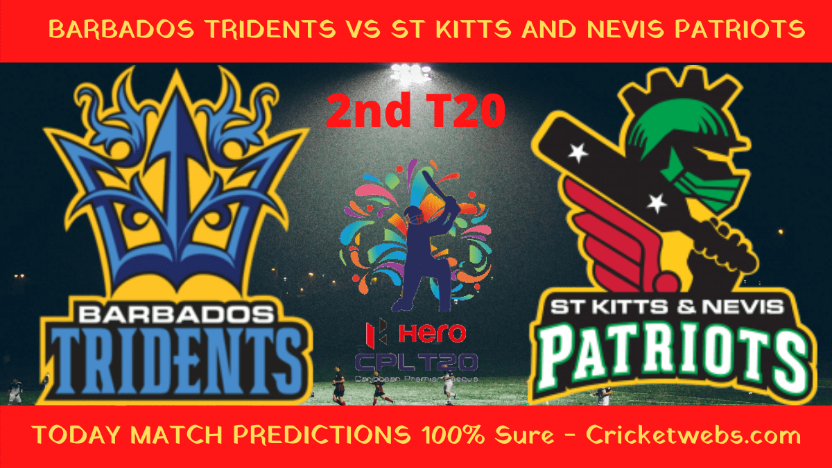 Who will win Barbados tridents vs St Kitts and Nevis Patriots