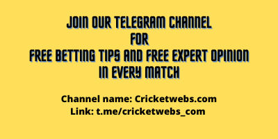 Join our Telegram Channel for free betting tips and Free expert opinion in every match