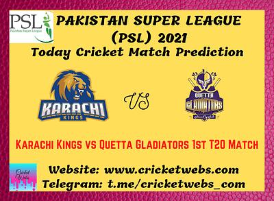 Cricket Betting Tips and Dream11 Cricket Match Predictions: Karachi Kings vs Quetta Gladiators 1st T20 PSL 2021
