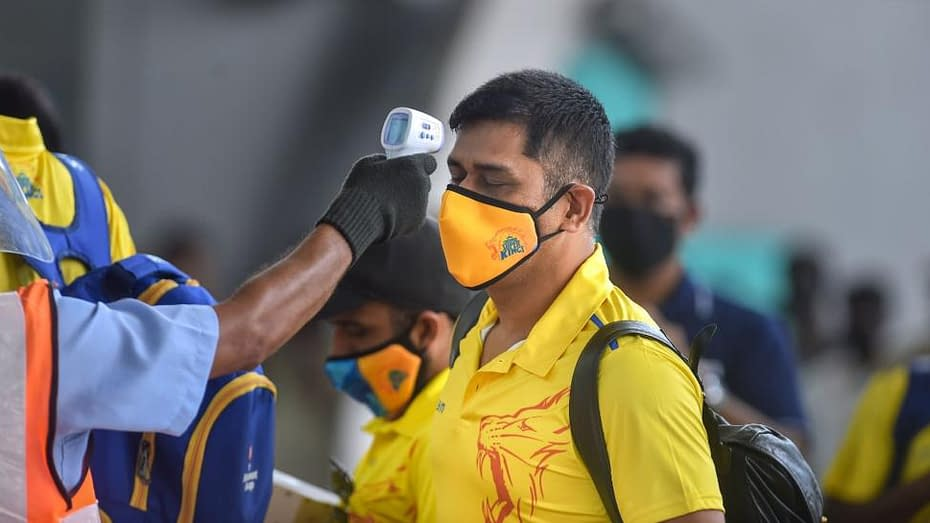 IPL 2020 Corona Testing