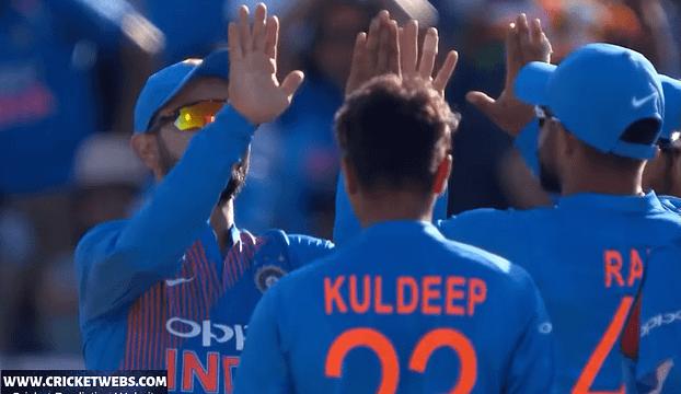 India Team Celebration