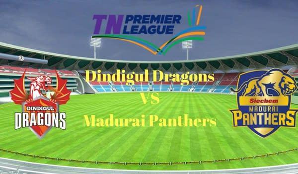 Dindigul Dragons VS Madurai Panthers