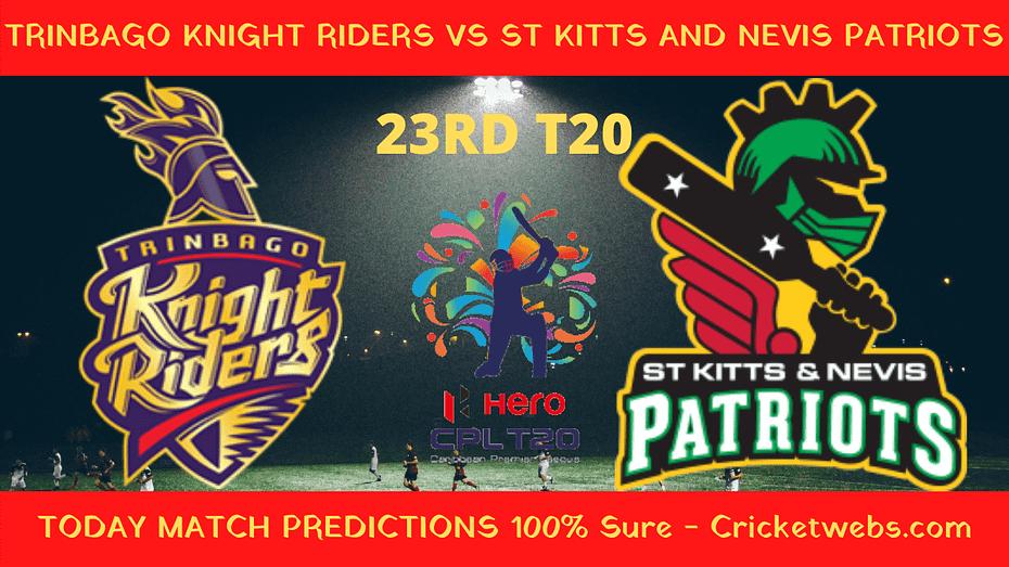 TKR vs SNP Match Prediction