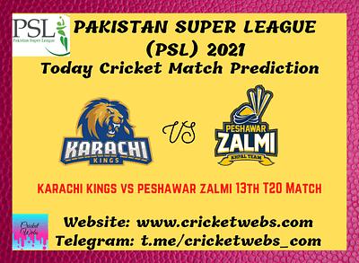 Cricket Betting Tips and Dream11 Cricket Match Predictions Karachi Kings vs Peshawar Zalmi 13th T20 PSL 2021