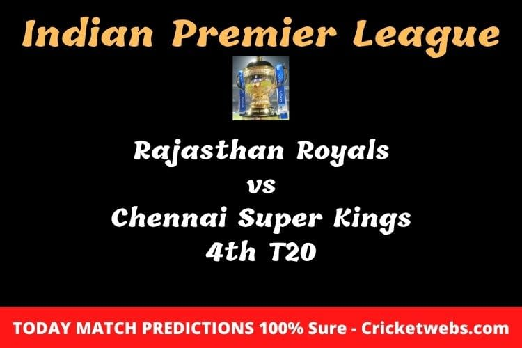 RR vs CSK Match Prediction