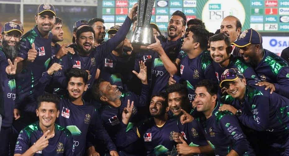 Quetta Gladiators Team Celebration