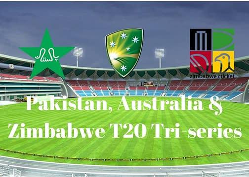 Pak,Aus & Zim tri-series