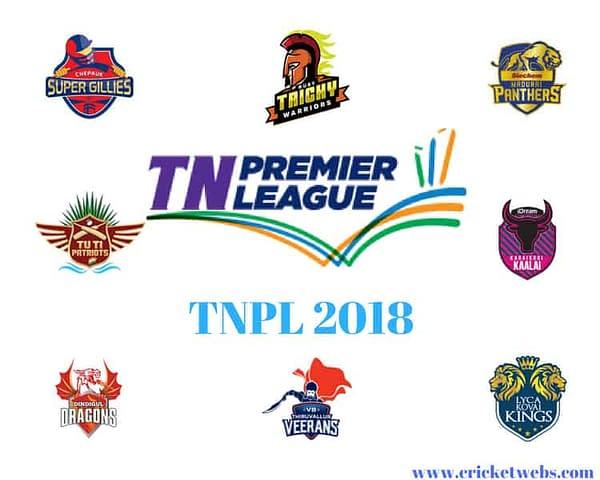 Schedule, Squad & Live Streaming Details – Tamil Nadu Premiere League