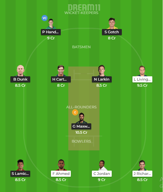 Melbourne Stars vs Perth Scorchers Dream11 Prediction