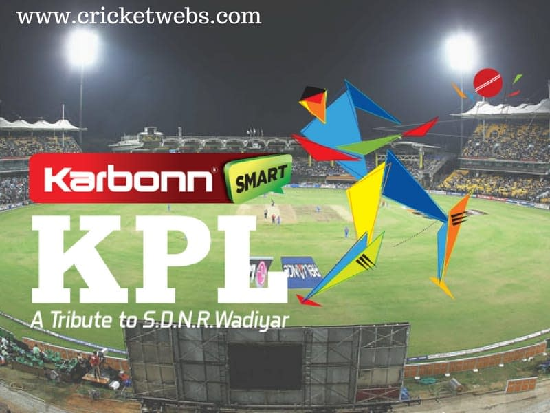Karnataka Premier League - Cricketwebs