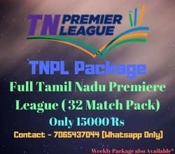 TNPL Match Offer & Package