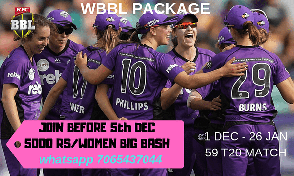 Women Big Bash Prediction
