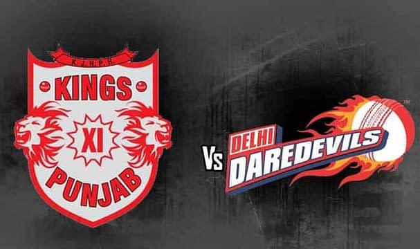Kings XI Punjab vs Delhi Daredevils