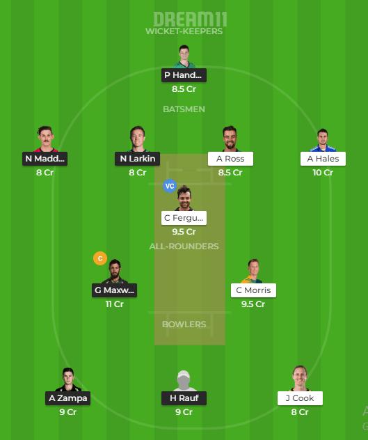 Sydney Thunder vs Melbourne Stars Dream11 Team Prediction